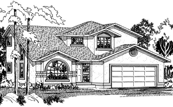 Florida House Plan 90996 Elevation