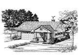 Garage Plan 91248