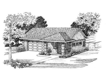 Garage Plan 91249
