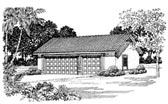 Garage Plan 91259