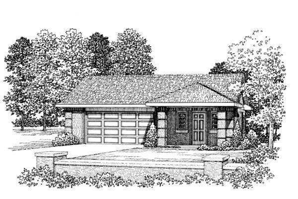 Garage Plan 91264 Elevation