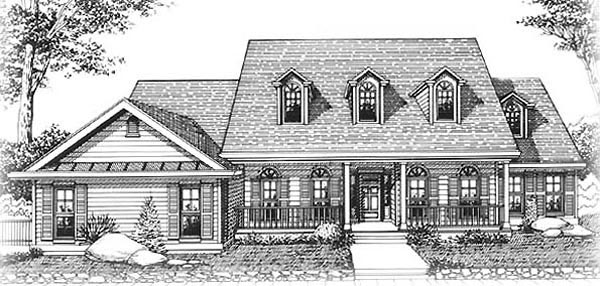 Country House Plan 91476