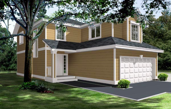 Traditional House Plan 91603 Elevation