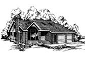 Plan Number 91758 - 2291 Square Feet