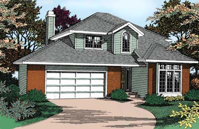 Traditional House Plan 91804 Elevation