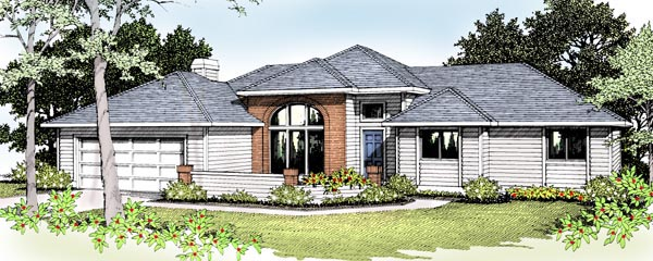 Traditional House Plan 91811 Elevation