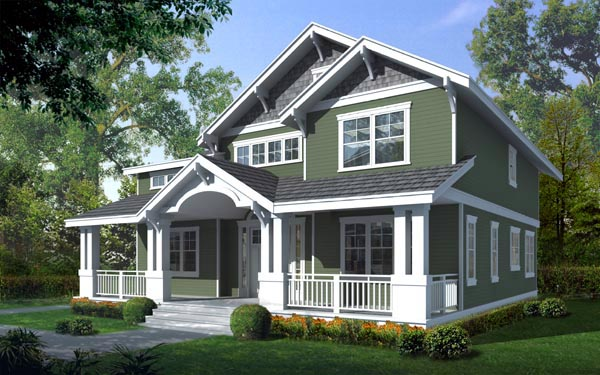 Home Ideas Craftsman Cottage House Plans