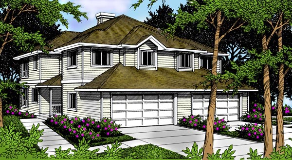 Traditional House Plan 91888 Elevation