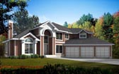 Plan Number 91896 - 2832 Square Feet