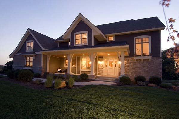 House Plan 92309 Elevation