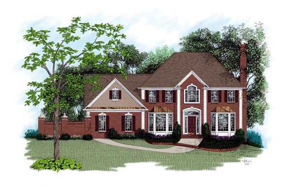 Traditional House Plan 92325
