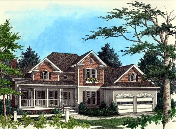 Country House Plan 92326 Elevation
