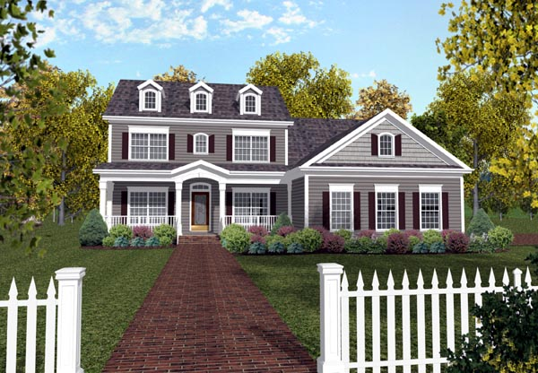 Traditional House Plan 92367 Elevation