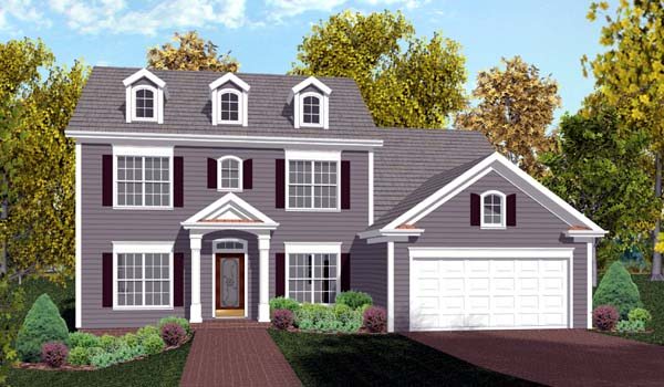 House plan 92374 at for Home plans com