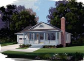 Plan Number 92400 - 1050 Square Feet