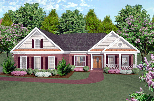 House plan 92420 at for 92420