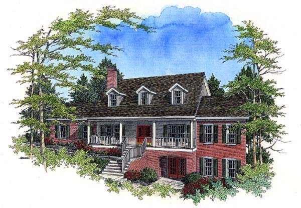 Country House Plan 92428 Elevation