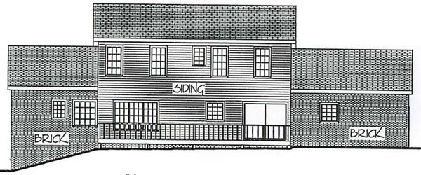 Country House Plan 92428 Rear Elevation