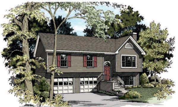 Ranch House Plan 92440 Elevation