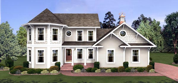 3 Story Colonial House Plans