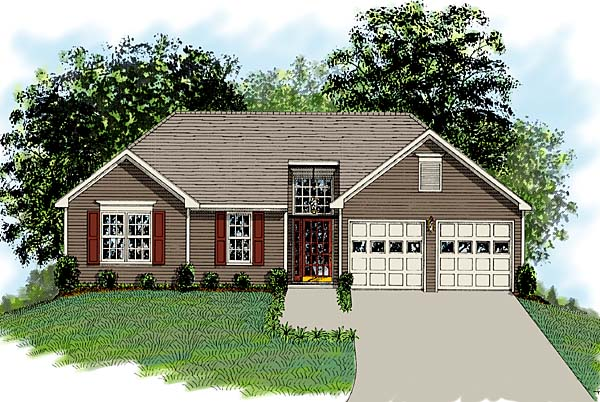 Traditional House Plan 92477