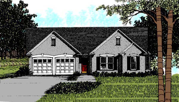 Ranch House Plan 92479 Elevation