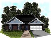 Plan Number 92481 - 1302 Square Feet