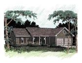 Plan Number 92484 - 1414 Square Feet