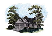 Plan Number 92491 - 1621 Square Feet