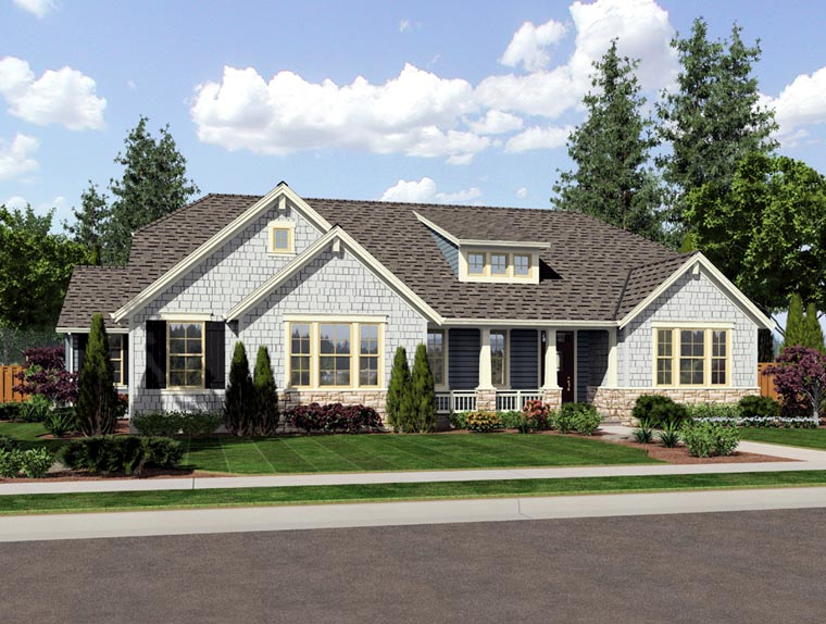 House plan 92604 at for Home plans com