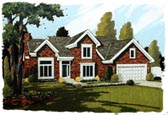 Plan Number 92609 - 1768 Square Feet