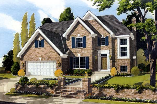 Traditional House Plan 92644 Elevation