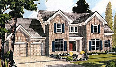 Colonial House Plan 92667 Elevation