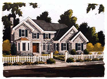 European Tudor House Plan 92699 Elevation