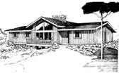Plan Number 92805 - 1768 Square Feet