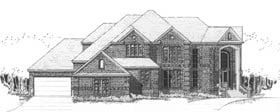 European House Plan 92915 with 5 Beds, 7 Baths, 3 Car Garage Elevation