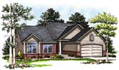 Plan Number 93129 - 1519 Square Feet