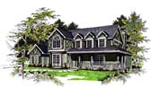 Plan Number 93137 - 2491 Square Feet