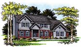 Plan Number 93152 - 2493 Square Feet