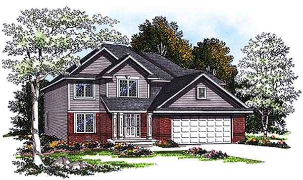 Country House Plan 93185 Elevation