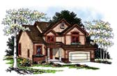 Plan Number 93188 - 2596 Square Feet