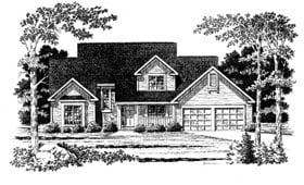 Plan Number 93349 - 1961 Square Feet