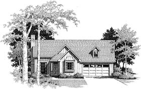 Plan Number 93403 - 1304 Square Feet