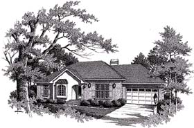 Plan Number 93454 - 1388 Square Feet