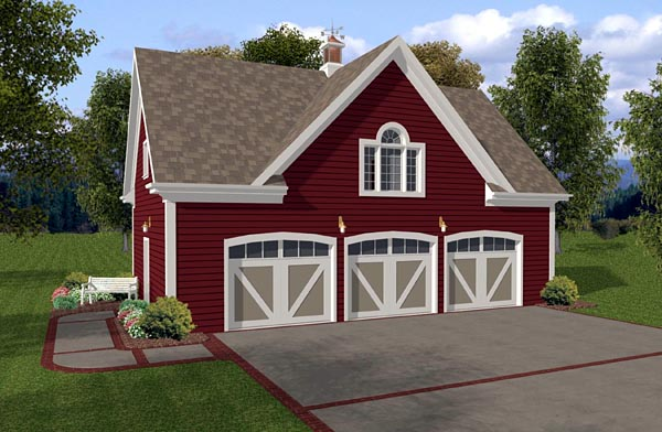 Garage Plan 93472 At Familyhomeplans Com