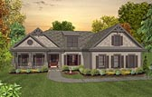 Plan Number 93490 - 1800 Square Feet