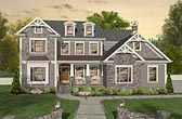 Plan Number 93496 - 3021 Square Feet