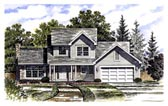 Plan Number 94105 - 1792 Square Feet