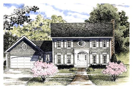 Colonial Southern House Plan 94141 Elevation