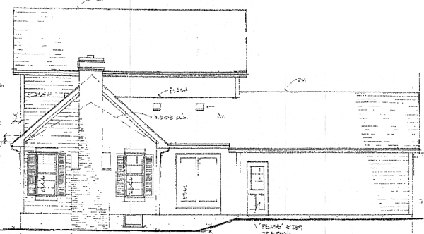 Country House Plan 94144 Rear Elevation